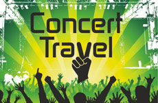concert travel logo